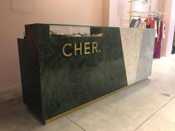 mostrador marmol